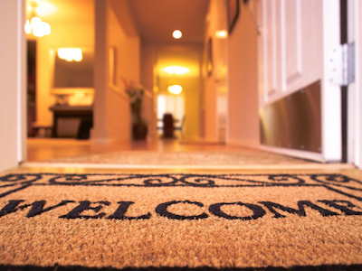 New Home Welcome Mat